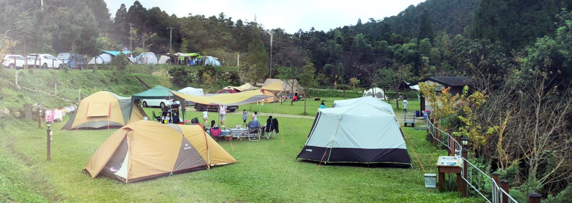 免裝備,輕露營!精選露營區