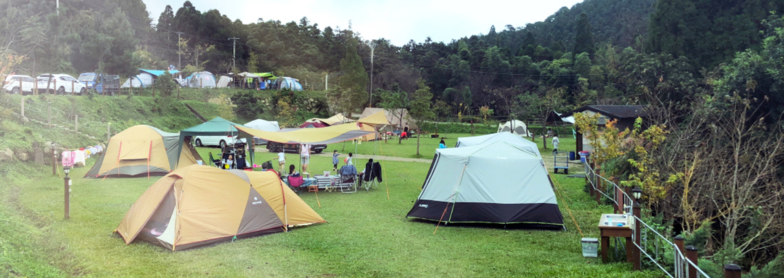 輕裝備就出發!可租帳篷-精選露營區