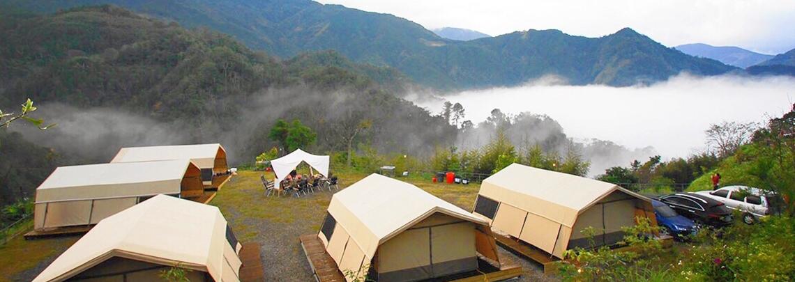雙十連假 家人同遊首選,有住房的北部露營區