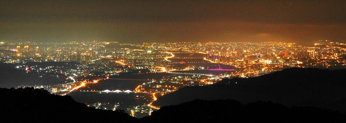 百萬夜景露營區精選