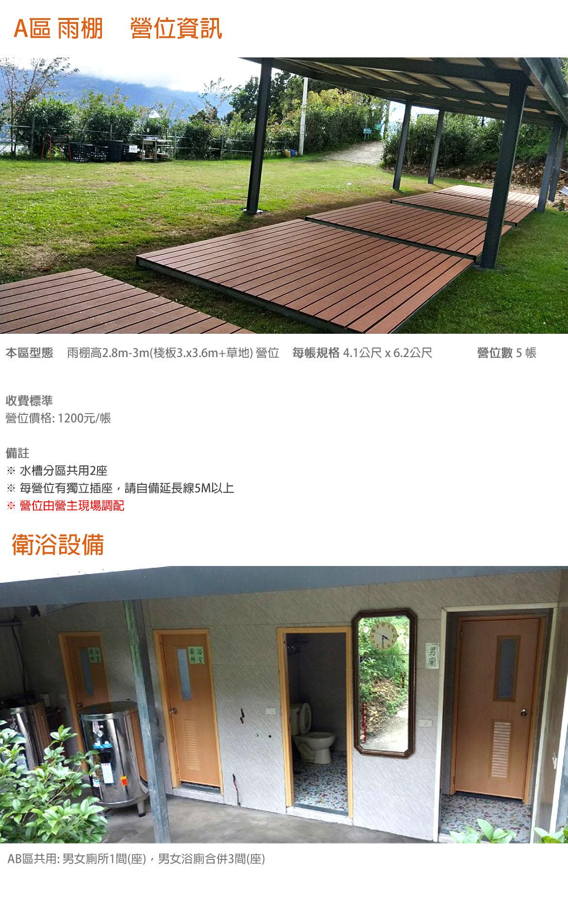 A區 雨棚棧板
