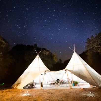 星空露營區