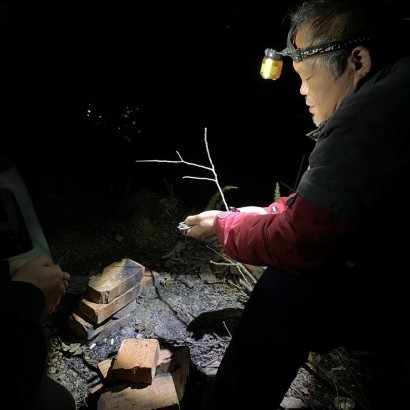 苗栗南庄 有鬼露營區