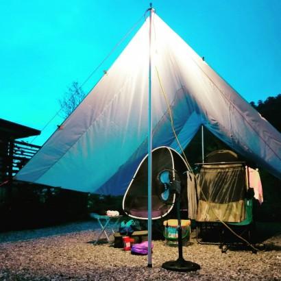 宜蘭大同 星光山夜露營區