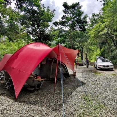 桃園復興 八度野溪露營區
