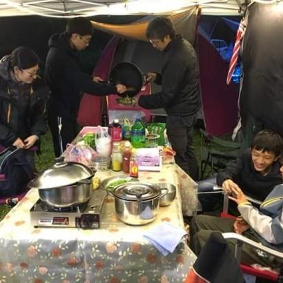 新竹尖石 梅花梯田露營區
