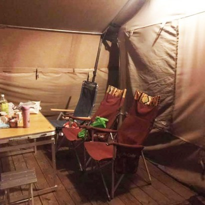 南非狩獵帳-桃園復興 飛鼠不渴 豪華露營 Glamping