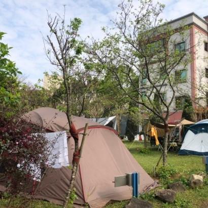桃園龍潭 管園親子露營區