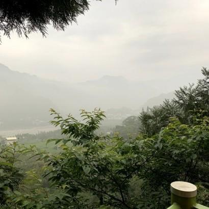 台中新社 天冷吹雲山莊
