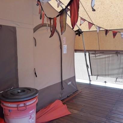 南非狩獵帳-桃園復興 八度野溪 豪華露營 Glamping