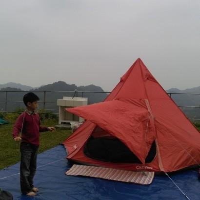 苗栗泰安 新耀婆山露營區