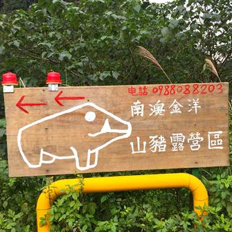 宜蘭南澳 金洋山豬露營區